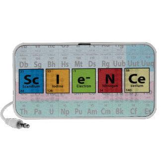 Science Portable Speaker