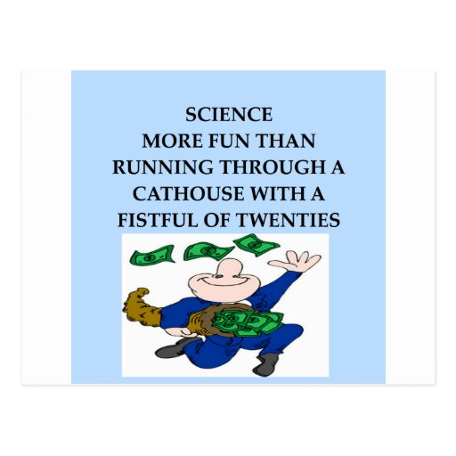 SCIENCE POST CARD