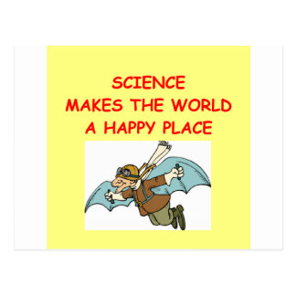 science post cards