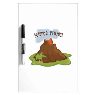 Science Project Dry-Erase Board