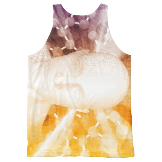 Science Research and Development All-Over Print Tank Top