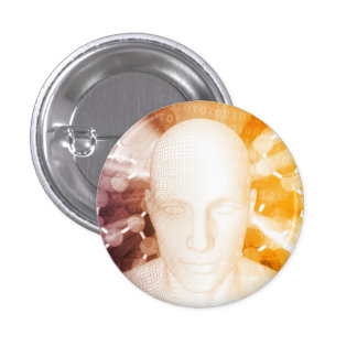 Science Research and Development Pinback Button