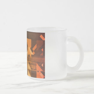Science Research as a Concept for Presentation Frosted Glass Coffee Mug