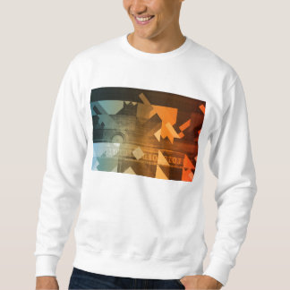 Science Research as a Concept for Presentation Sweatshirt