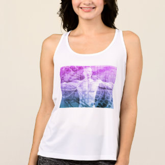 Science Research as a Concept for Presentation Tank Top