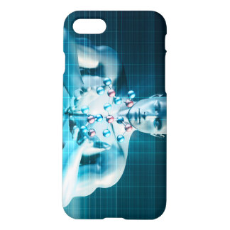 Science Research as a Molecule Concept iPhone 8/7 Case