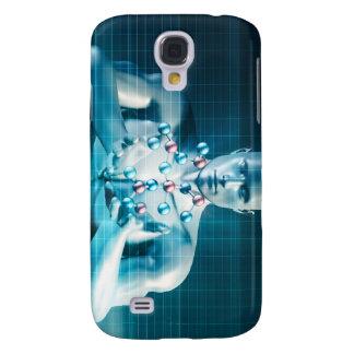 Science Research as a Molecule Concept Samsung S4 Case