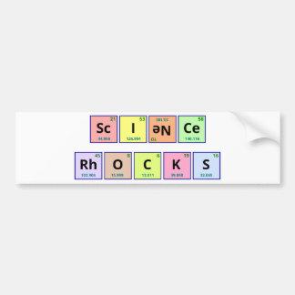 Science Rocks Bumper Sticker
