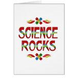 Science Rocks Card