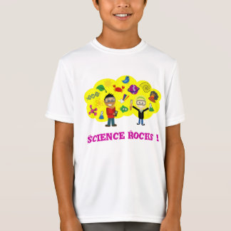 Science Rocks Cartoon T-Shirt