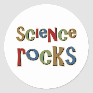 Science Rocks Classic Round Sticker