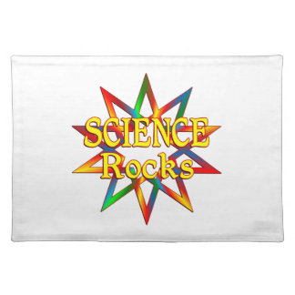 Science Rocks Cloth Placemat