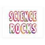 Science Rocks Post Card