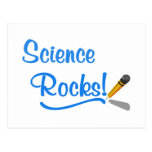 Science Rocks! Post Cards
