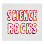 Science Rocks Print