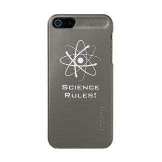 Science Rules! - Atom (001) Metallic iPhone SE/5/5s Case
