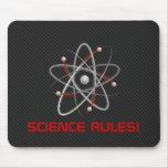 SCIENCE RULES! Atom (004a) | Geek Mousepads