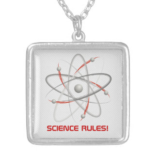 SCIENCE RULES - Atom 004a Necklaces