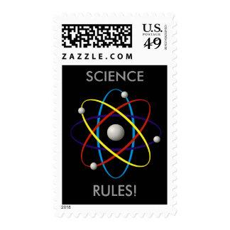 Science Rules! Atom (005) - Postage