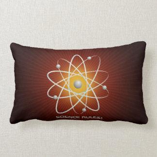 SCIENCE RULES! - Atom (007) Lumbar Pillow