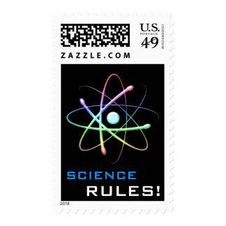 SCIENCE RULES! Atom - Postage