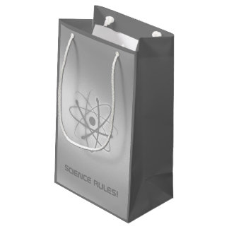 SCIENCE RULES! | Atom Symbol Small Gift Bag