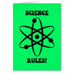 science rules card