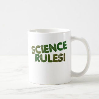 Science Rules Coffee Mug