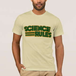 Science Rules gênios T-Shirt