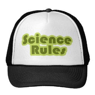 Science Rules Trucker Hats