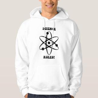 science rules hoodie