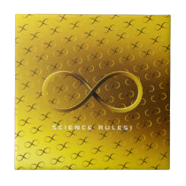 Science Rules | Infinity Geek Gifts Ceramic Tile