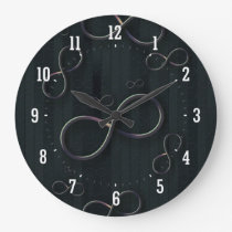 Science Rules | Infinity Geek Gifts Large Clock
