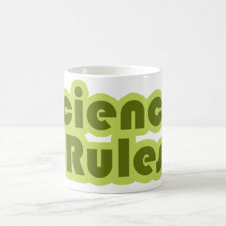 Science Rules Magic Mug