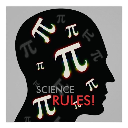 SCIENCE RULES! - math poster