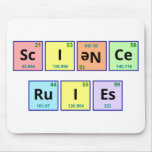 Science Rules Mouse Pad