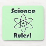 Science Rules Mouse Pads