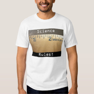 Science Rules! T Shirt