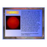 Science,  Solar System, Beginnings Post Cards