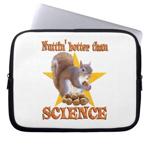 Science Squirrel Laptop Sleeves