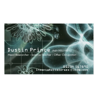 Science Style Business Card