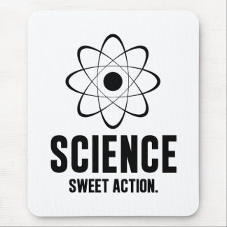 Science. Sweet Action. Mouse Pad