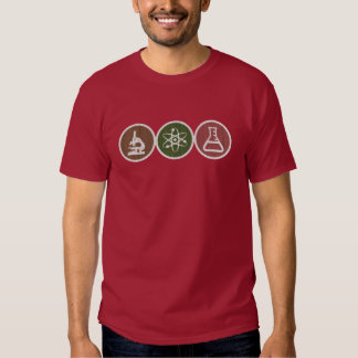 Science T-shirt Distressed Grainy design