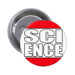 Science t shirt pinback buttons