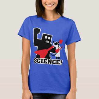 Science t-shirt robot