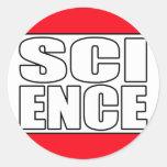 Science t shirt sticker