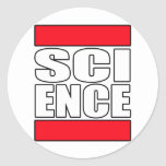 Science t shirt stickers
