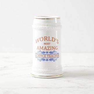 Science Teacher Beer Stein