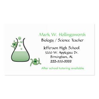 Science Teacher business cards