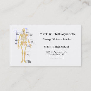 Biology teacher business cards zazzle science teacher business cards colourmoves
